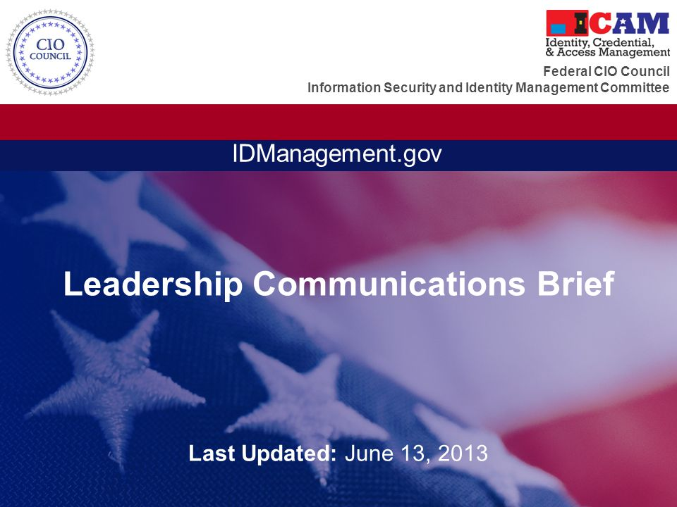 Leadership Communications Brief