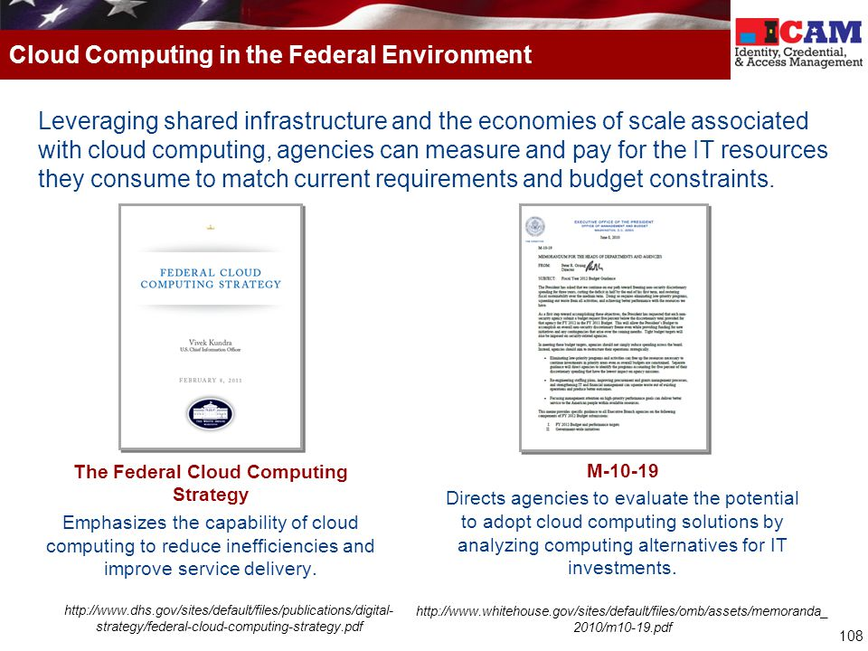 Cloud Computing in the Federal Environment