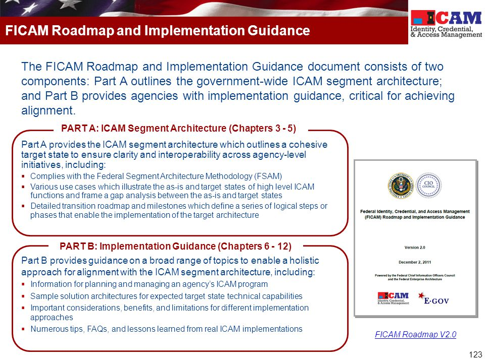 FICAM Roadmap and Implementation Guidance