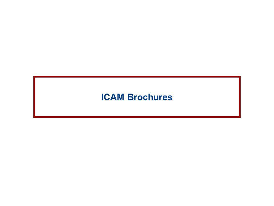 ICAM Brochures