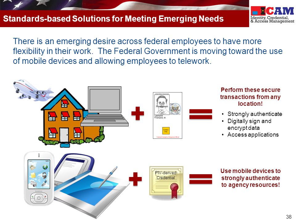 Standards-based Solutions for Meeting Emerging Needs