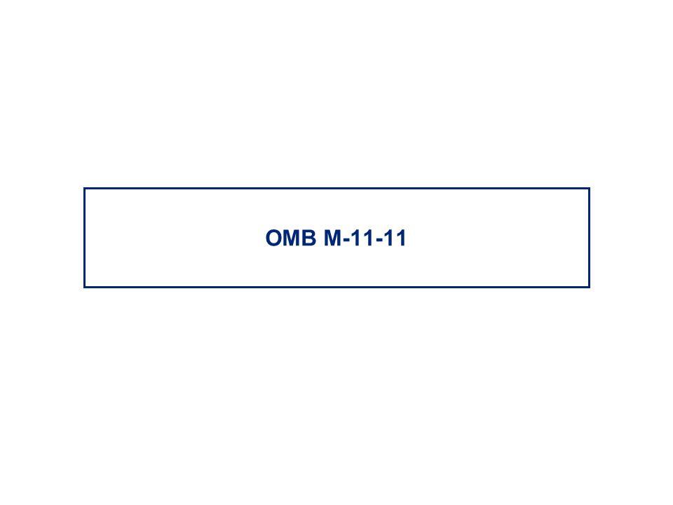 OMB M-11-11