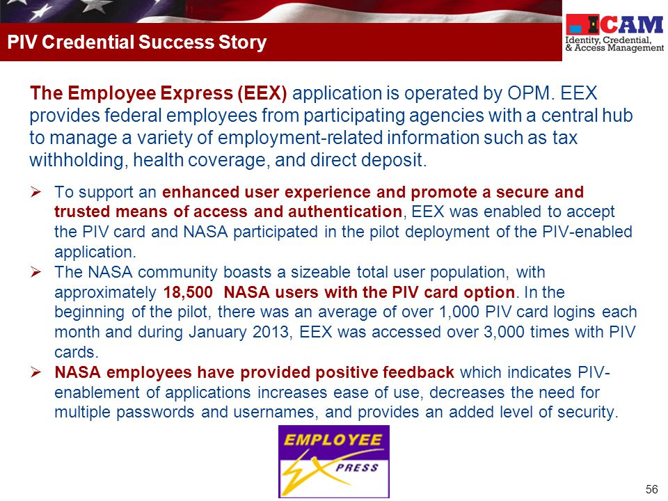 PIV Credential Success Story