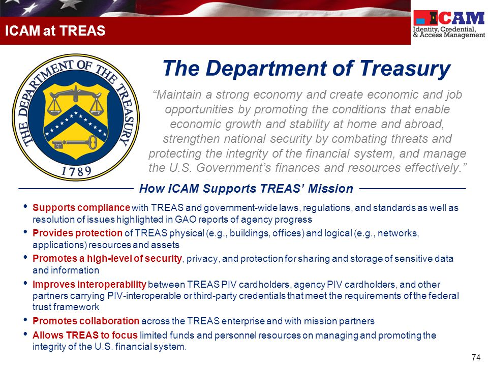 The Department of Treasury