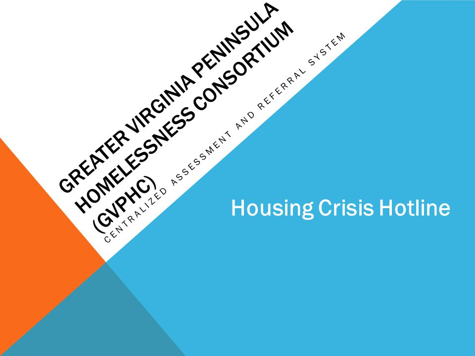 Greater Virginia Peninsula Homelessness Consortium (GVPHC)