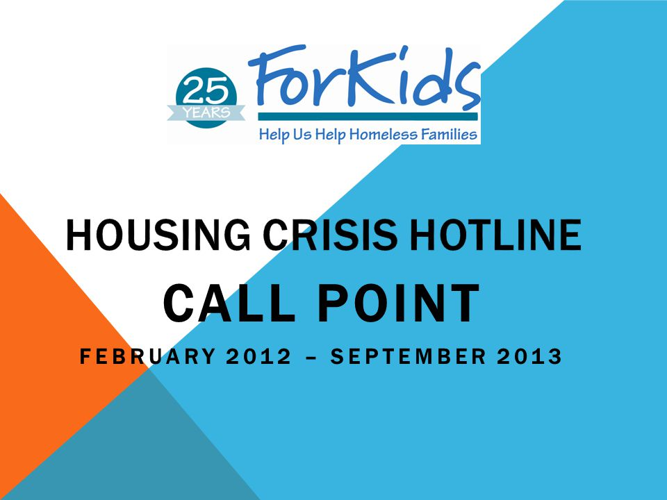 Housing Crisis Hotline