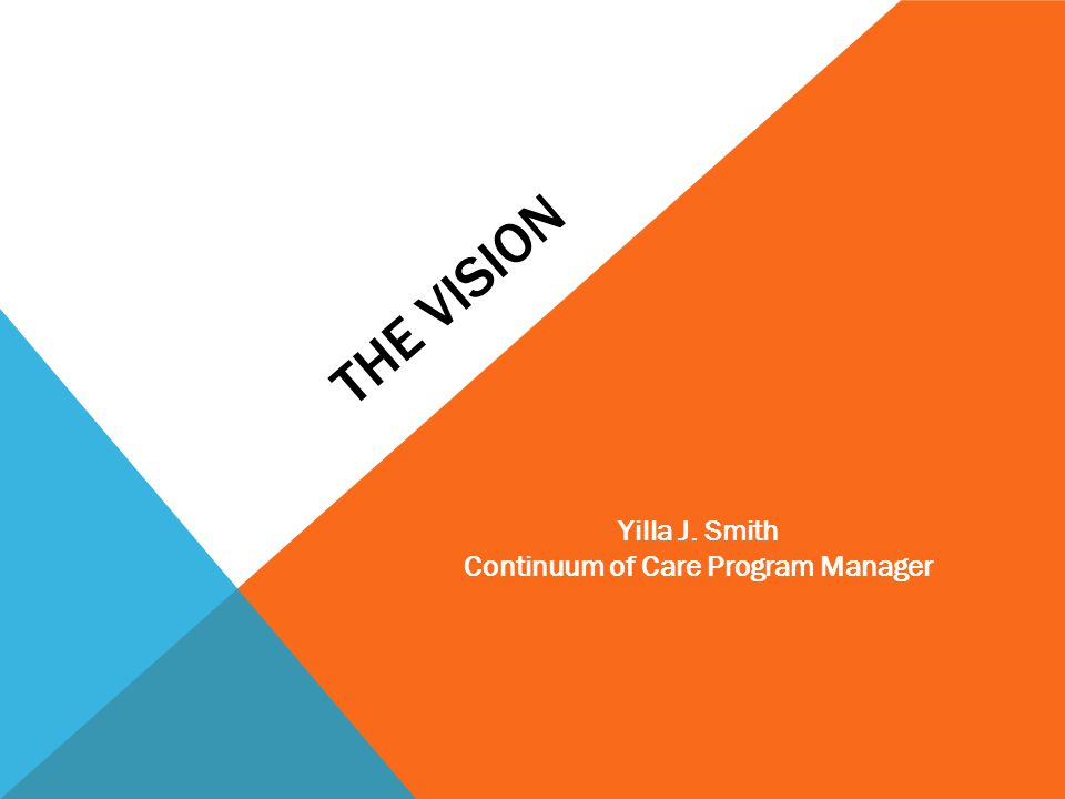Continuum of Care Program Manager
