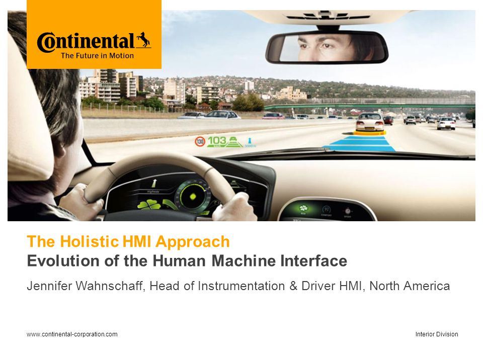 The Holistic HMI Approach