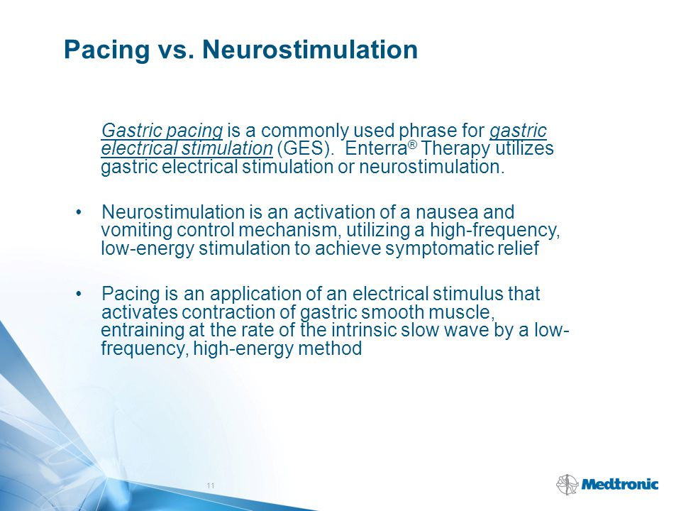 Pacing vs. Neurostimulation