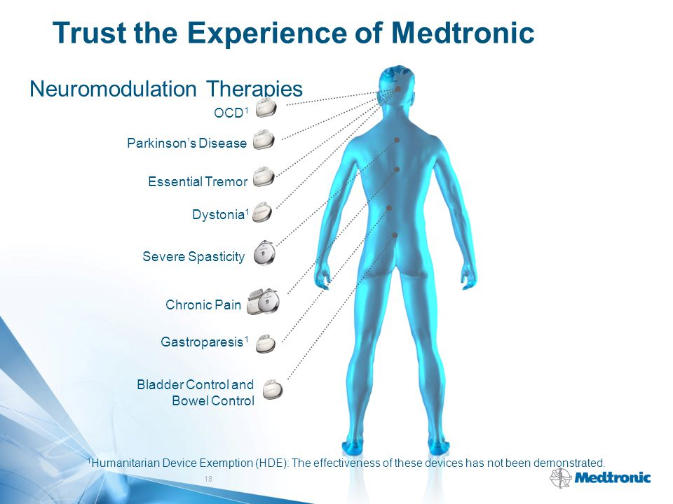 Trust the Experience of Medtronic