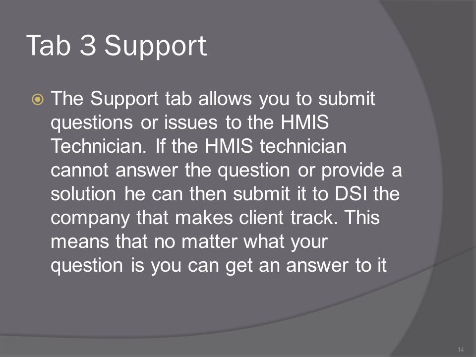 Tab 3 Support
