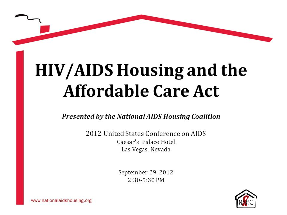 HIV/AIDS Housing and the Affordable Care Act