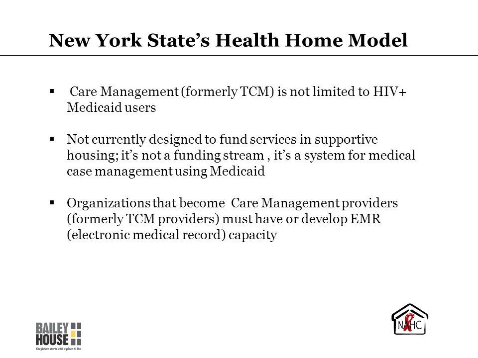 New York State's Health Home Model