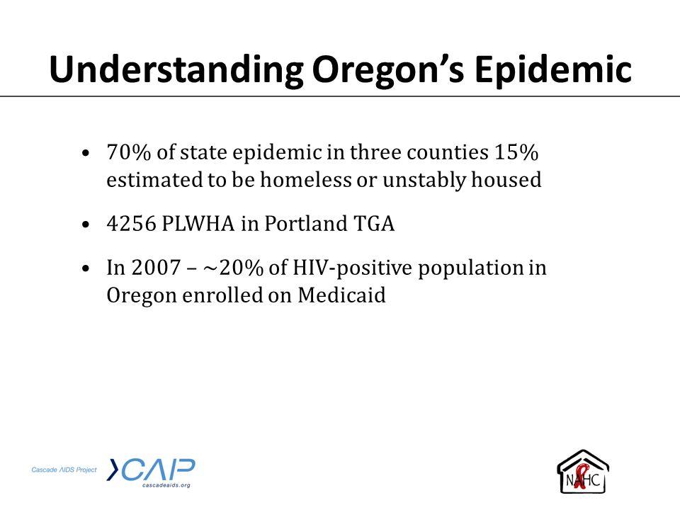 Understanding Oregon's Epidemic