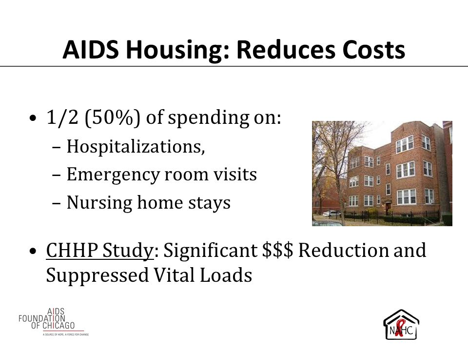 AIDS Housing: Reduces Costs