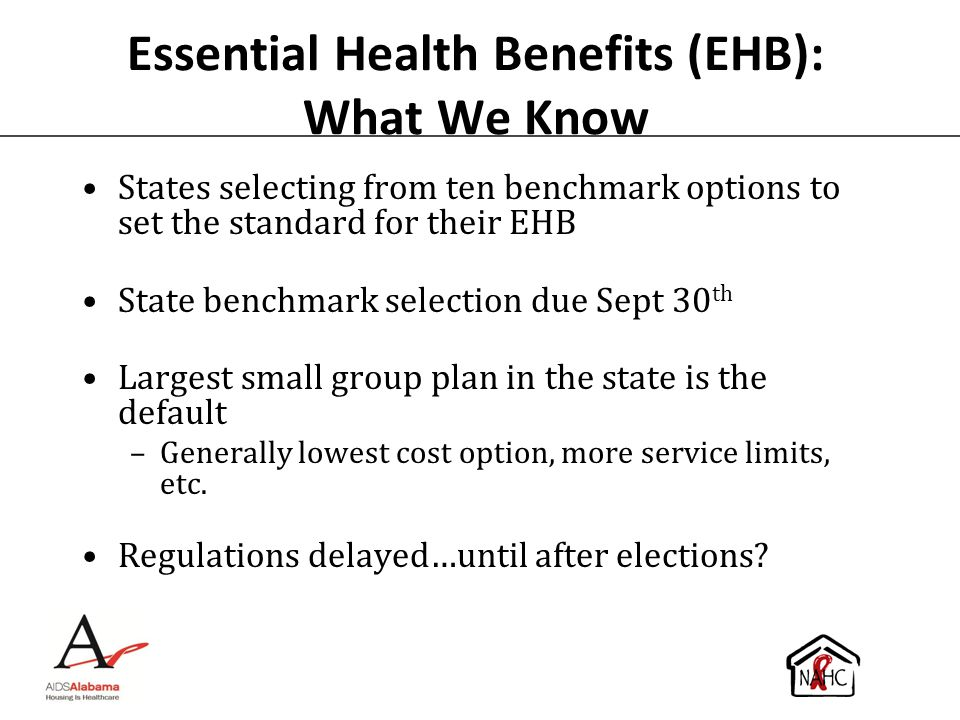Essential Health Benefits (EHB): What We Know