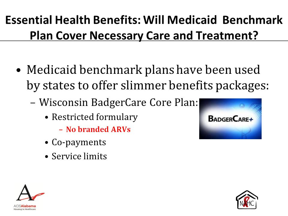 Essential Health Benefits: Will Medicaid Benchmark Plan Cover Necessary Care and Treatment