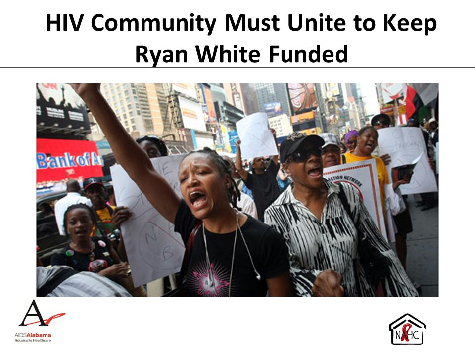 HIV Community Must Unite to Keep Ryan White Funded