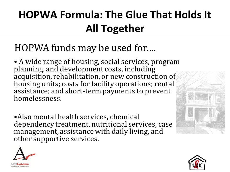 HOPWA Formula: The Glue That Holds It All Together