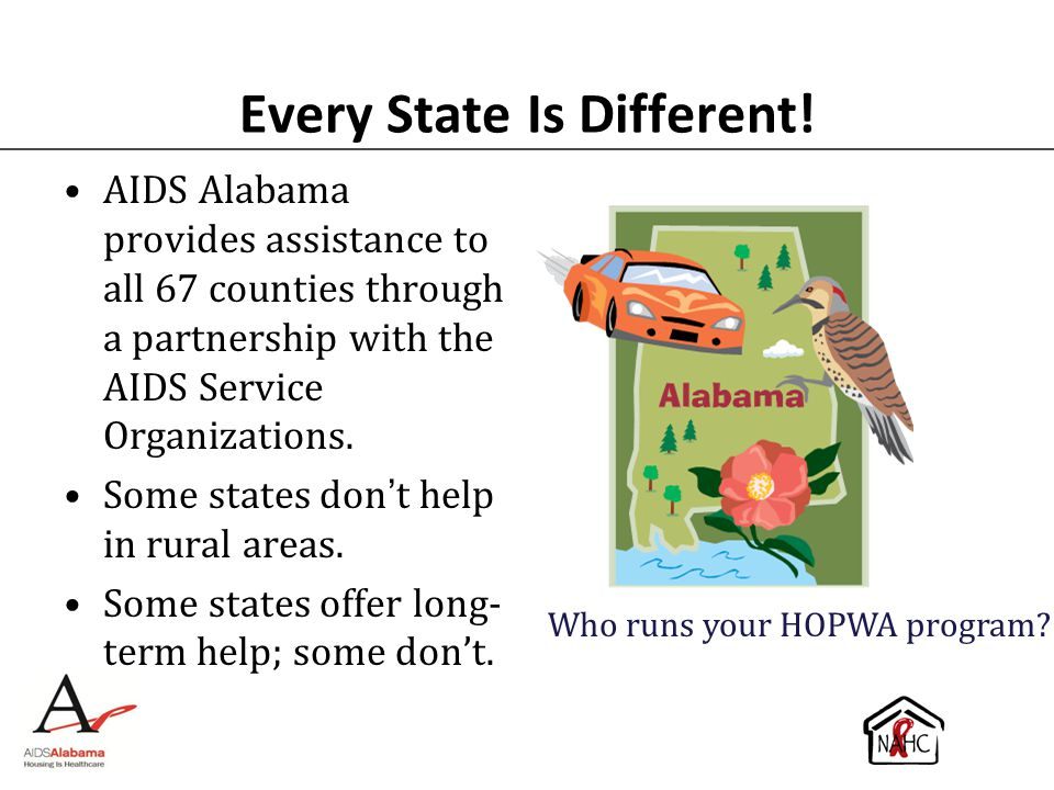 Every State Is Different!