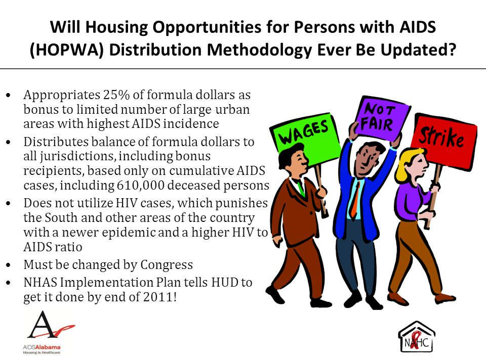 Will Housing Opportunities for Persons with AIDS (HOPWA) Distribution Methodology Ever Be Updated
