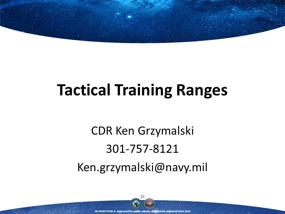 Tactical Training Ranges