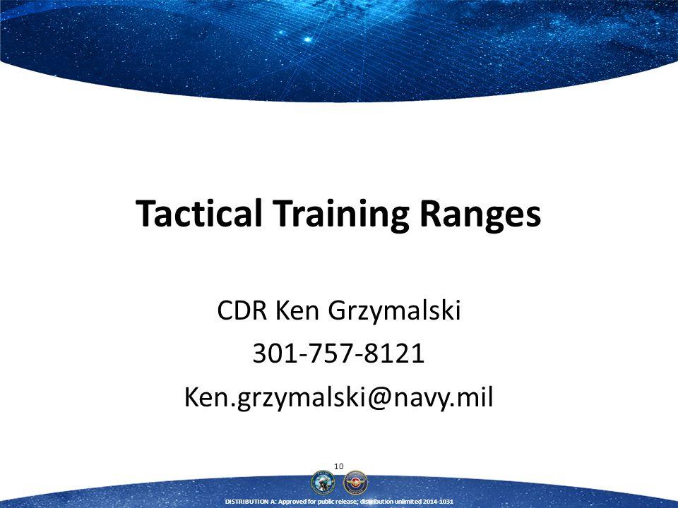 Tactical Training Ranges