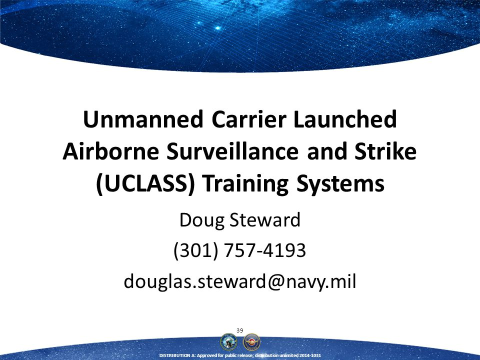 Doug Steward (301) 757-4193 douglas.steward@navy.mil