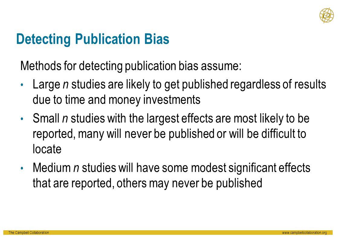 Detecting Publication Bias