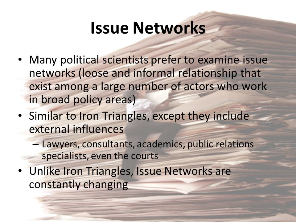 Issue Networks