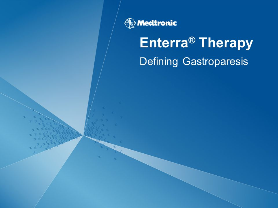 Defining Gastroparesis