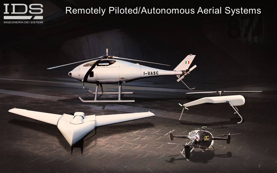 Remotely Piloted/Autonomous Aerial Systems