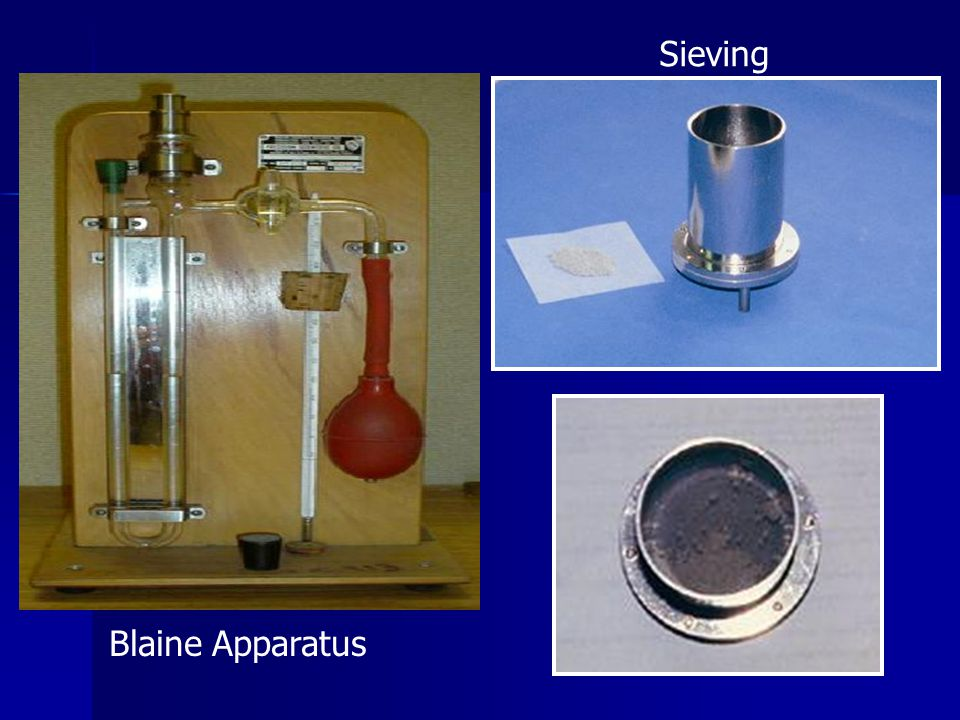 Sieving Blaine Apparatus