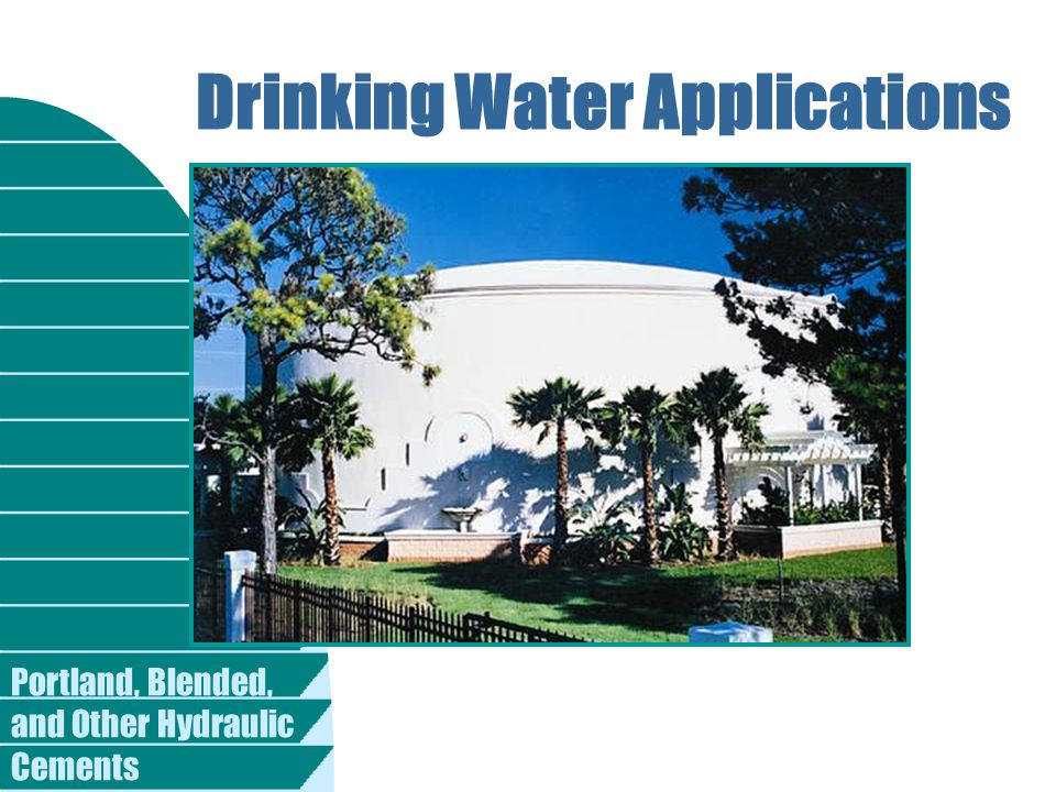 Drinking Water Applications