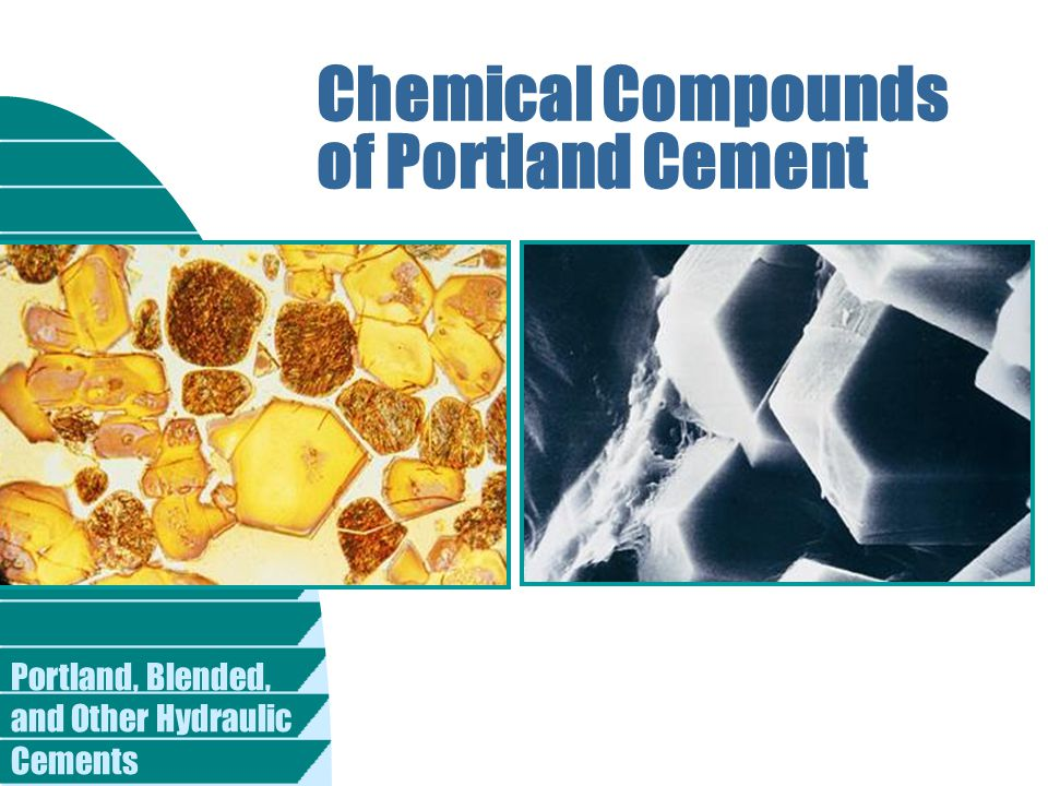 Chemical Compounds of Portland Cement