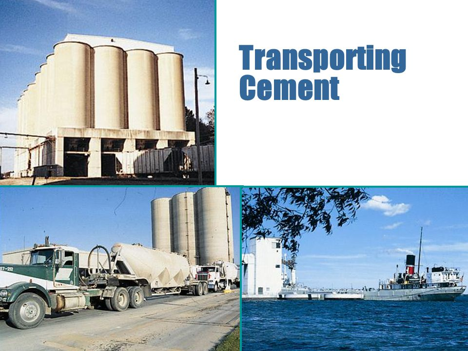 Transporting Cement