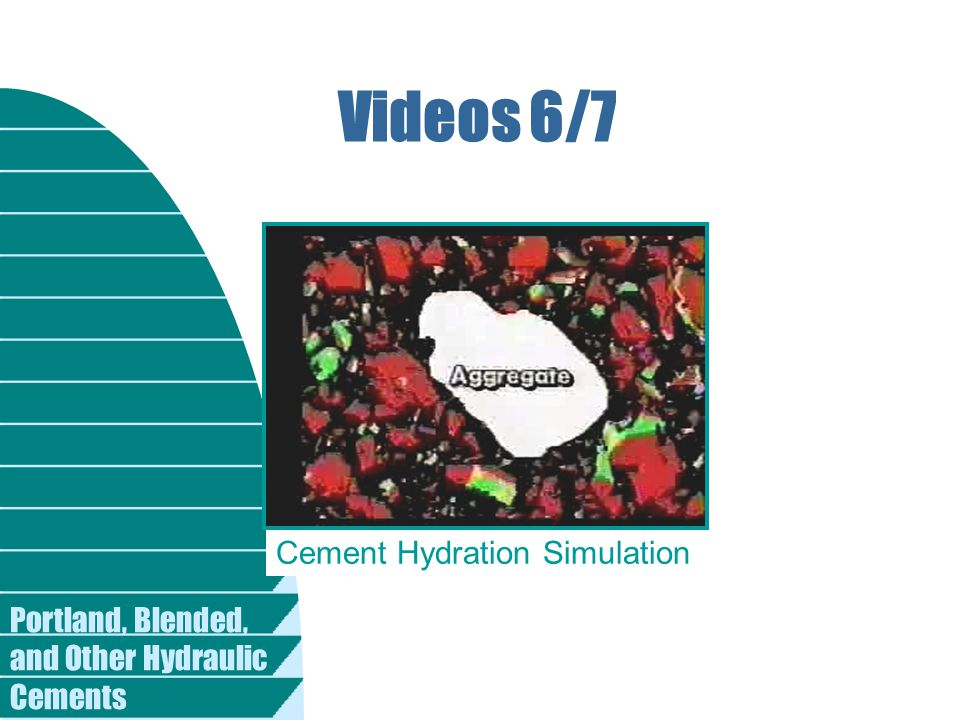 Videos 6/7 Cement Hydration Simulation