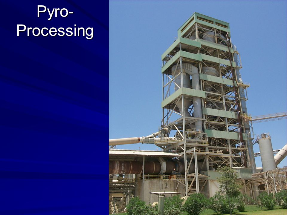 Pyro- Processing Modernized in 1999 by HBZ and Fuller