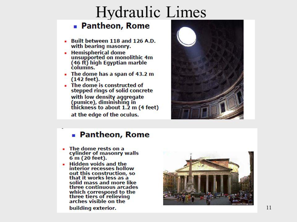 Hydraulic Limes