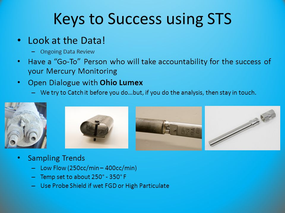 Keys to Success using STS