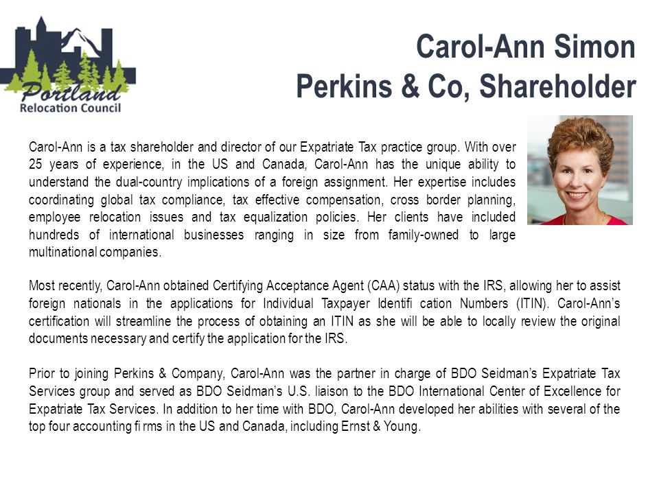 Perkins & Co, Shareholder