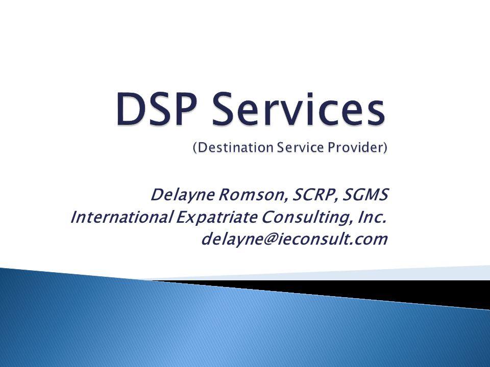 DSP Services (Destination Service Provider)