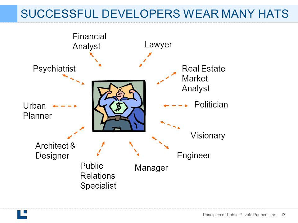 SUCCESSFUL DEVELOPERS WEAR MANY HATS