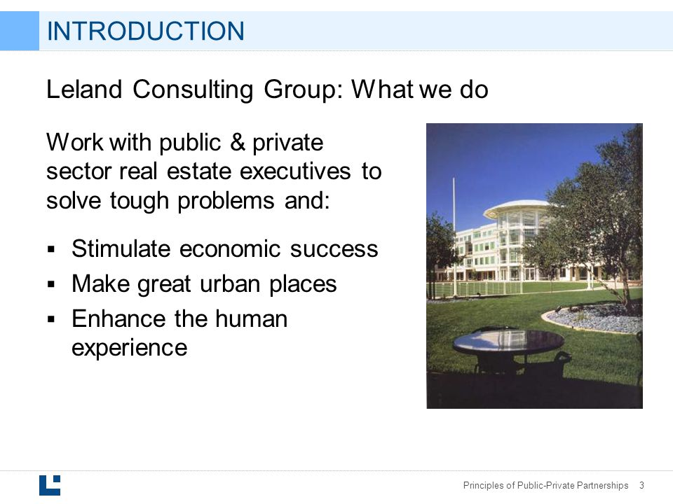 Leland Consulting Group: What we do