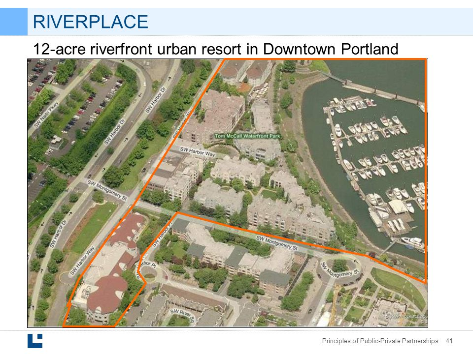 RIVERPLACE 12-acre riverfront urban resort in Downtown Portland