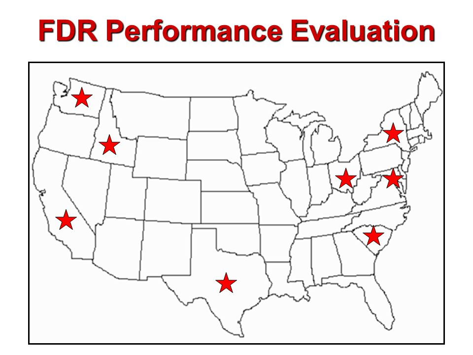 FDR Performance Evaluation