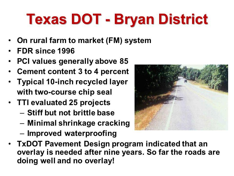 Texas DOT - Bryan District