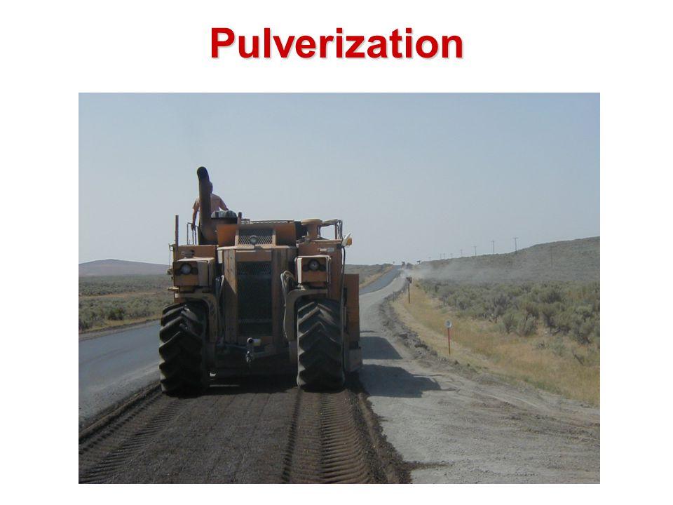 Pulverization