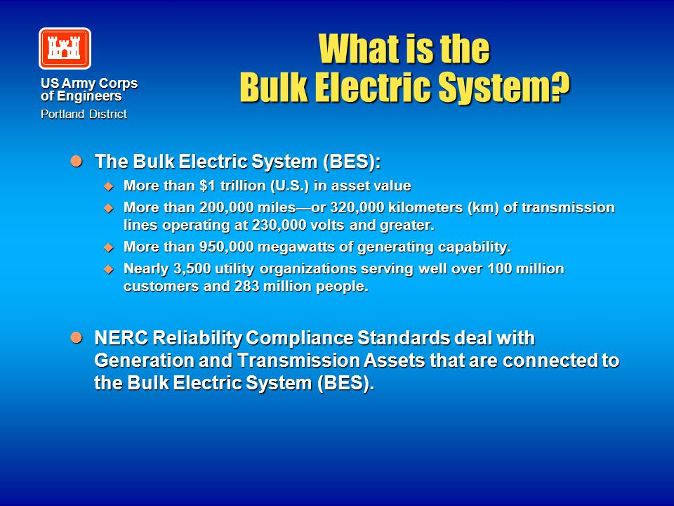 What is the Bulk Electric System