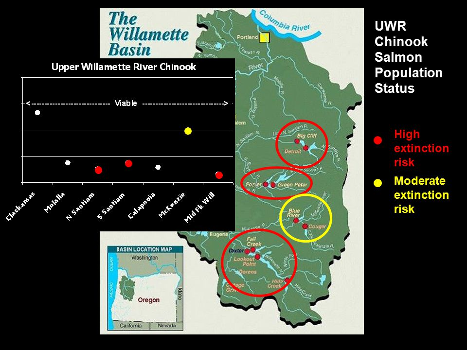 UWR Chinook Salmon Population Status